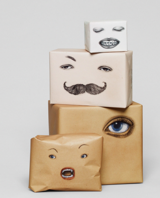 Fornasettiish / Wrapping Faces