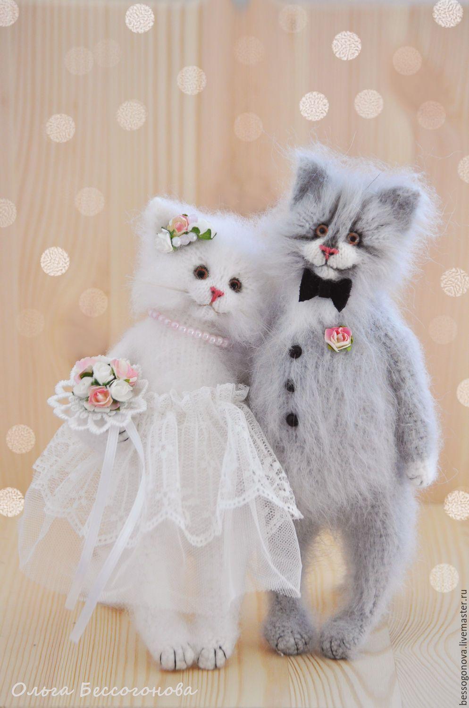 схема вязания игрушки кошка алиса