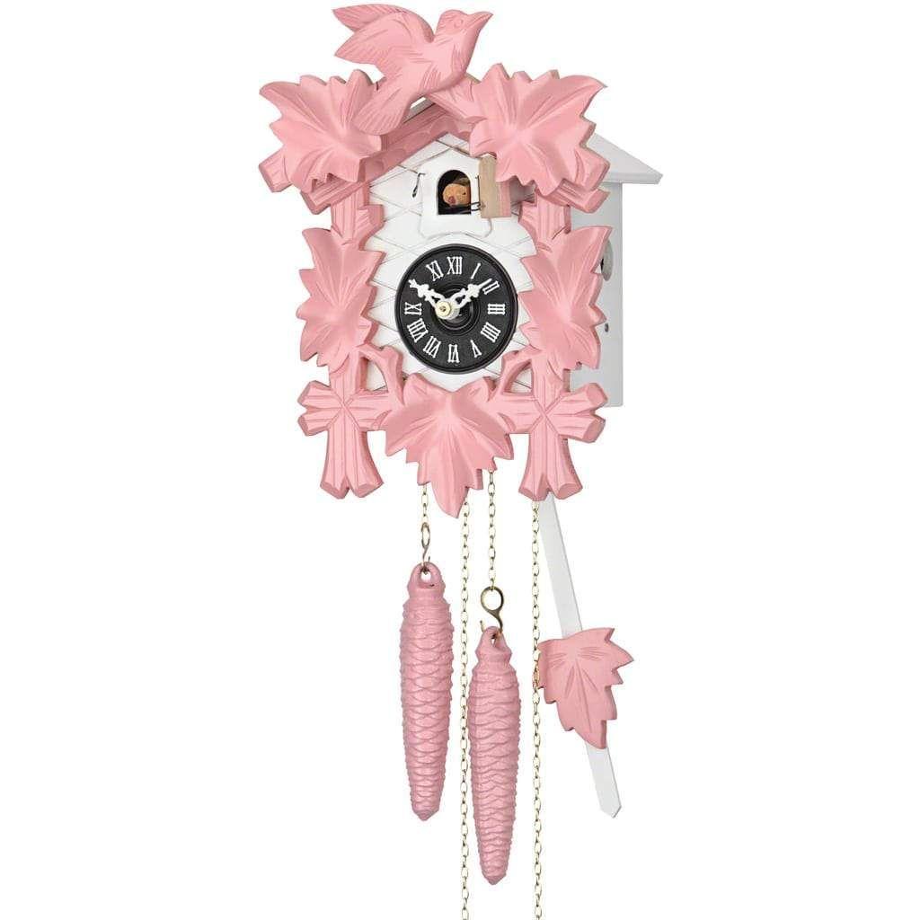 Sternreiter Pink Black Forest Quartz Cuckoo Clock 1201qm Cuckoo Clock Clock Cuckoo