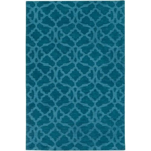 Metro Kristen Electric Blue Rectangular: 4 Ft. x 6 Ft. Area Rug - (In No Image Available)