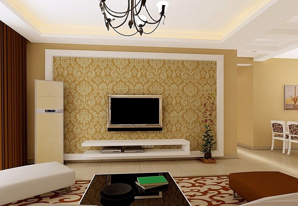 Wall design google search for the home pinterest Interior design ideas for led tv