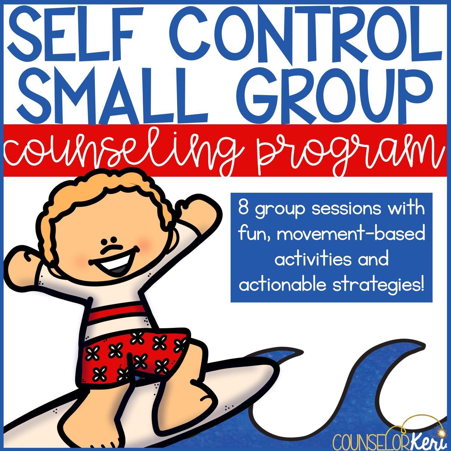 Self Control Group Counseling Program Impulse Control