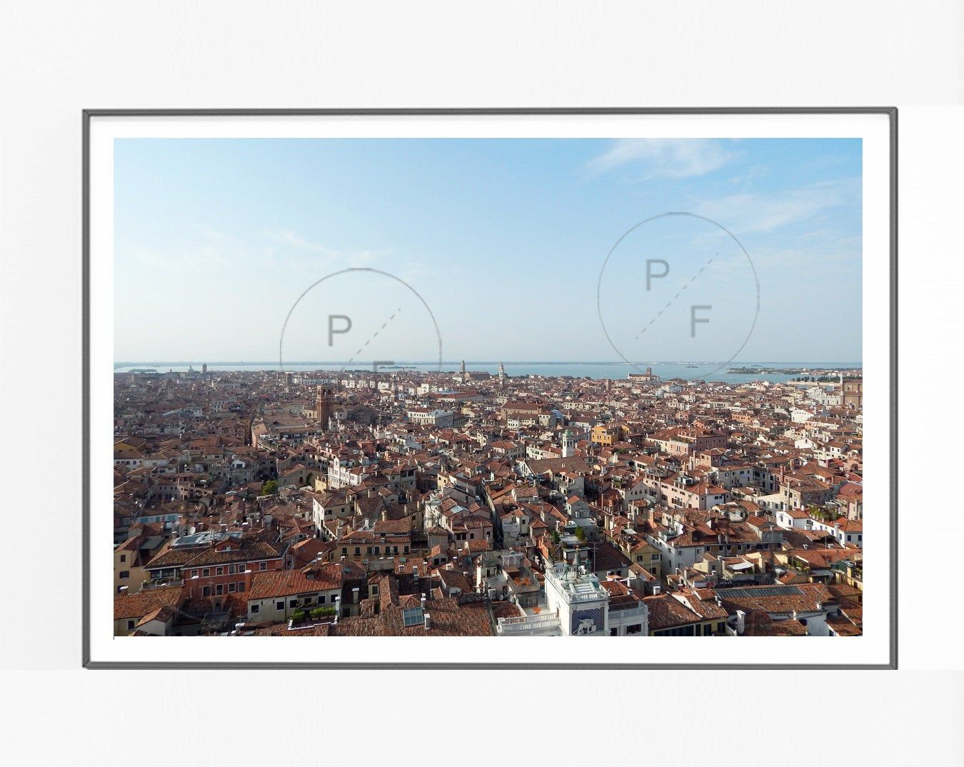 Photo of Venice Italy Panoramic View- 7″x5″ or 10″x8″ photograph print, home gift