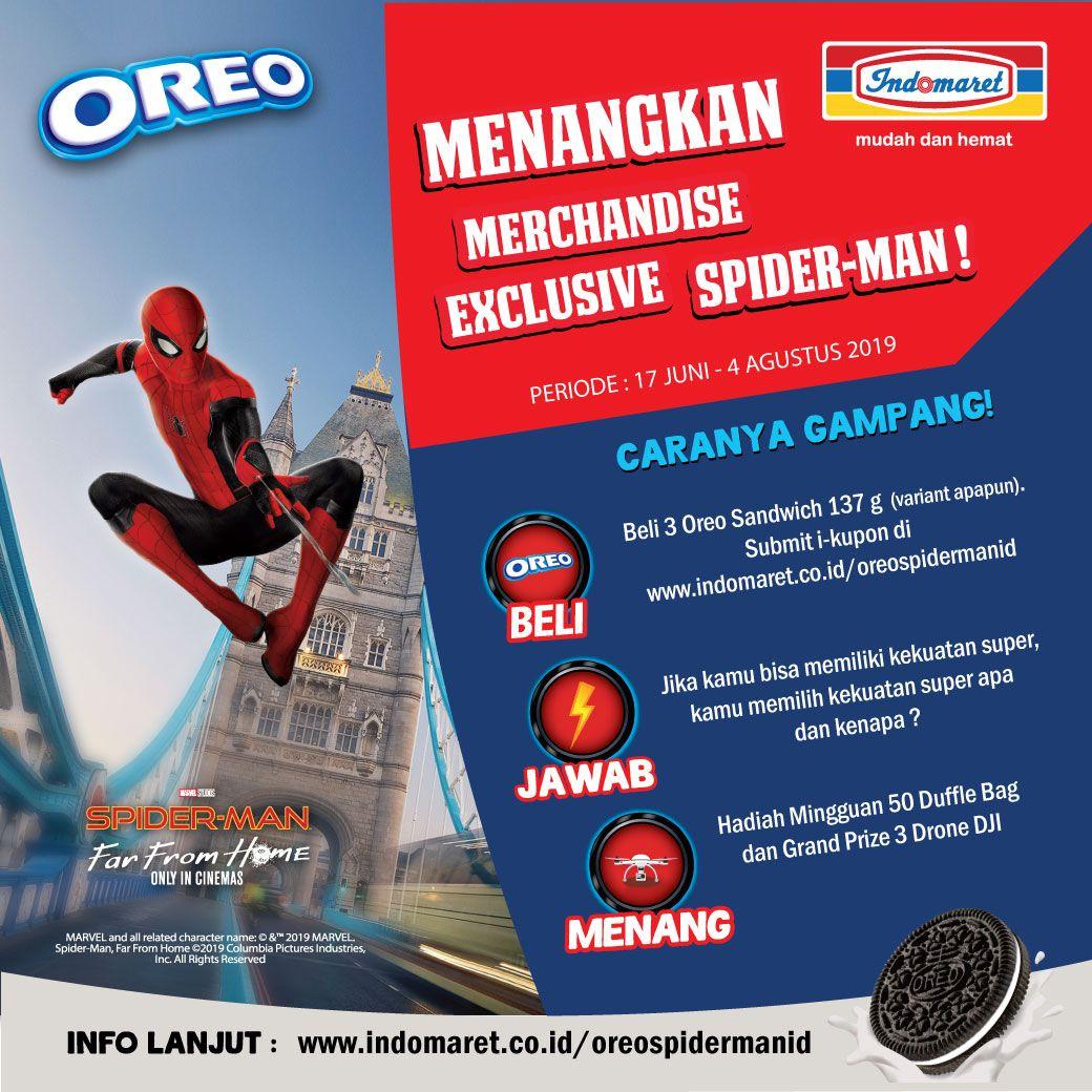 Spiderman X Oreo Oreo Spider Man Sandwich