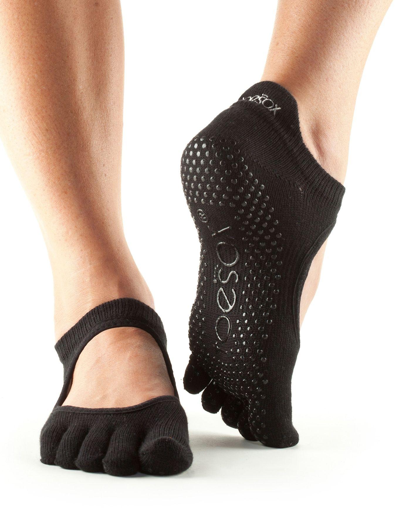 Grip Full Toe Ballerina By Toesox® Toesox, Grip socks