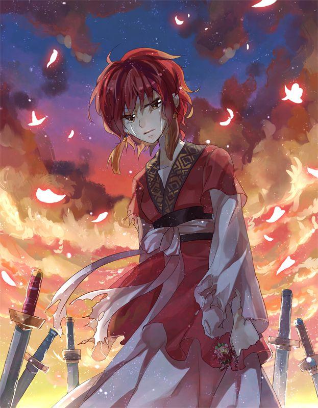 """"""" Ein Bogen zu spannen, bedeutet Leben zu nehemen """" Akatsuki no Yona by Yona"""