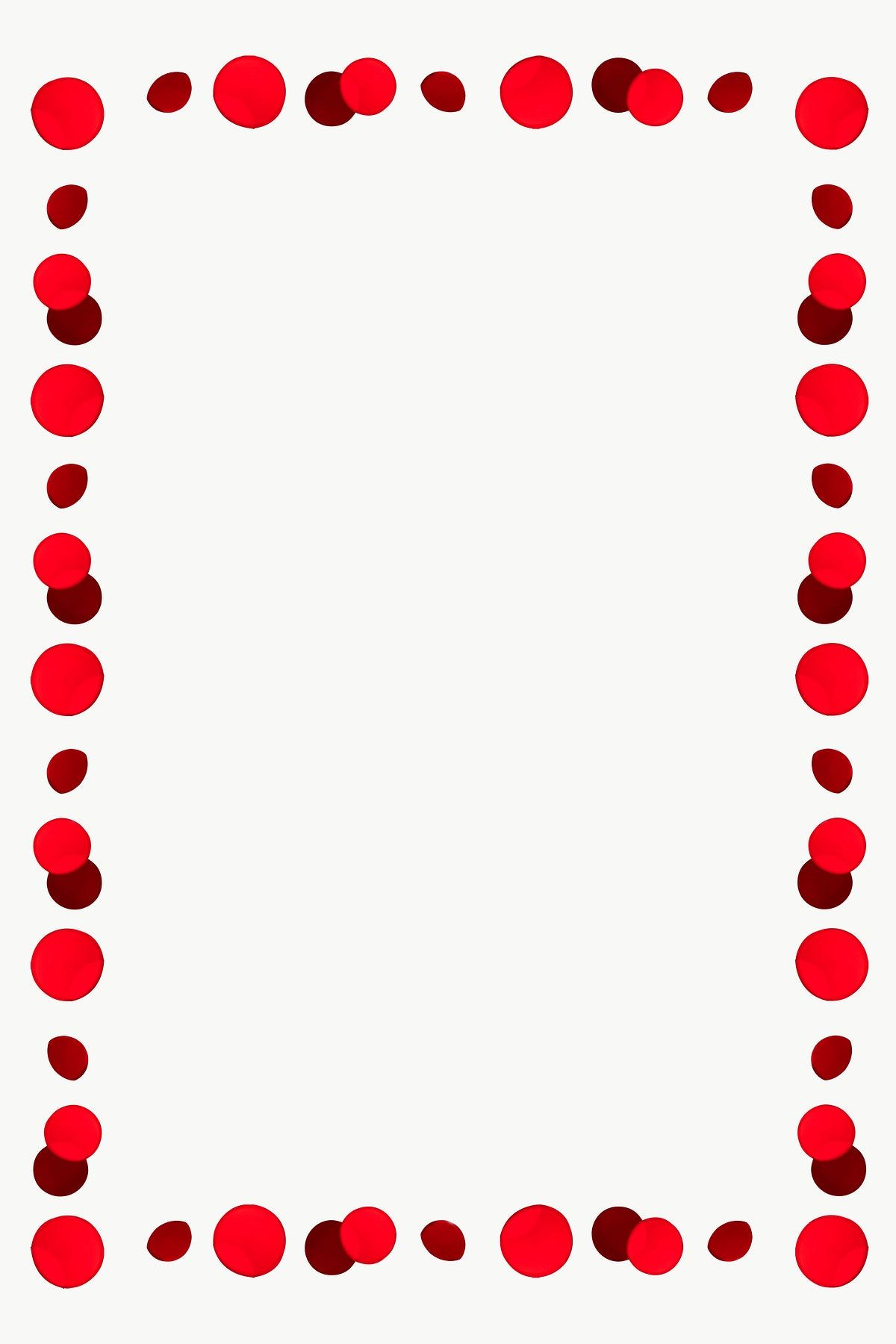 Pin By Solradiante Brillante On Hojas Decoradas Design Element Frame Design Red Dots