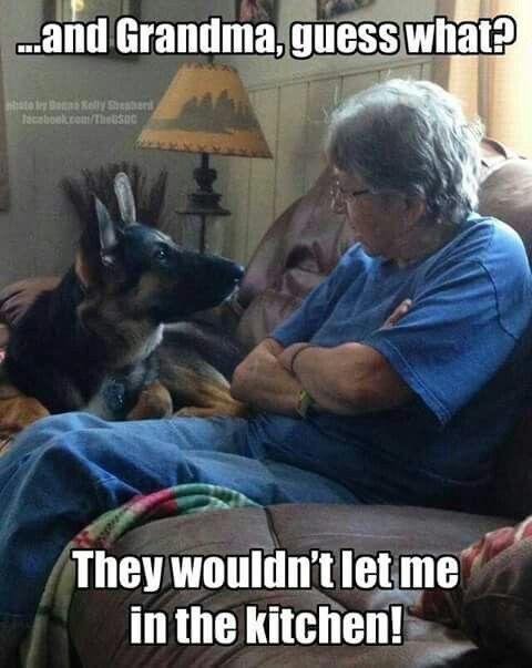 And grandma