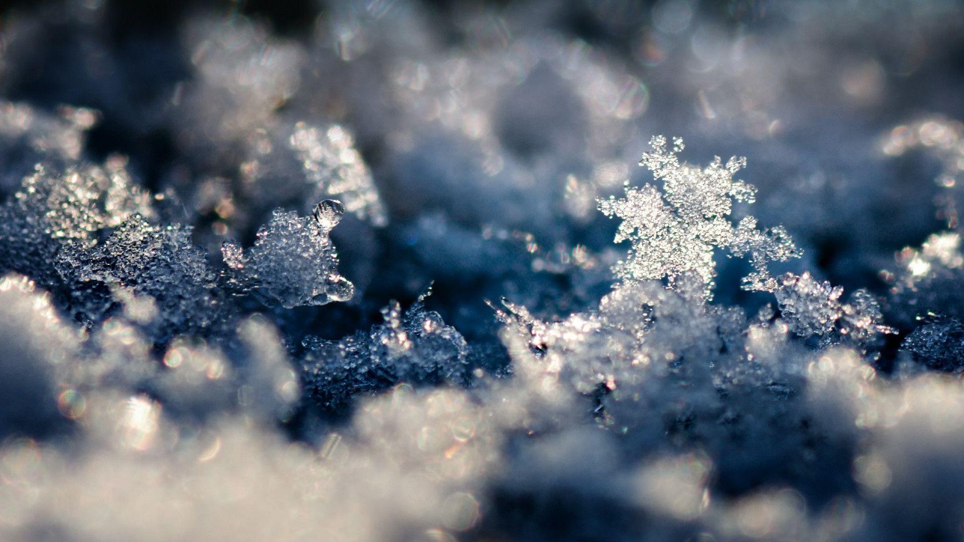 Copos de nieve, ice, magic, nature, PHOTO HD(1920×1080)