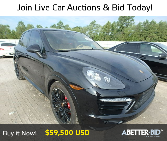 Salvage 2014 PORSCHE CAYENNE For Sale
