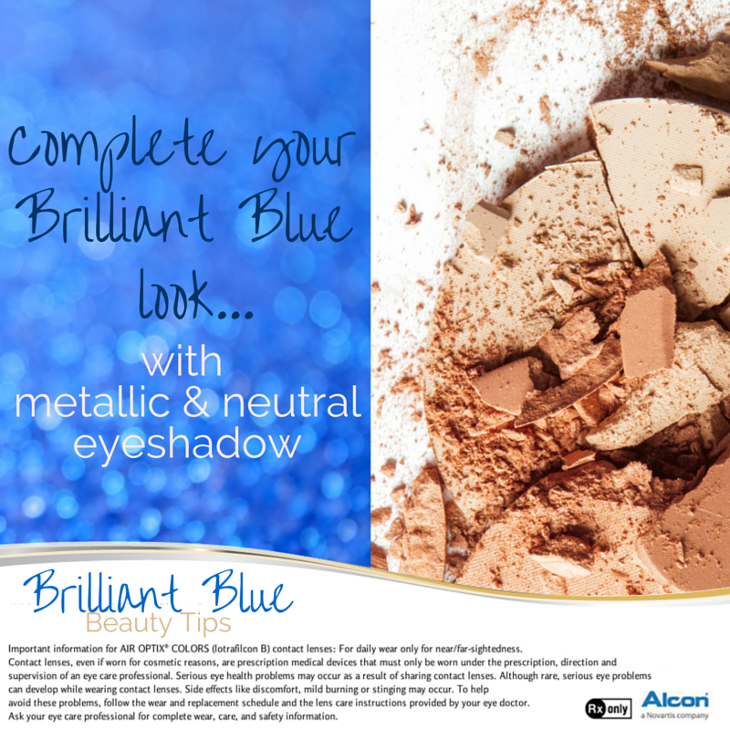 Command attention with your Brilliant Blue eyes by using