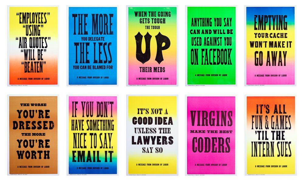 New Rules of Work Posters | Employee handbook, Digital ...