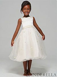 Flower Girl Dresses  - SALE! Disney Couture Dress Style C2862-CINDERELLA-Ivory Cinderella Dress