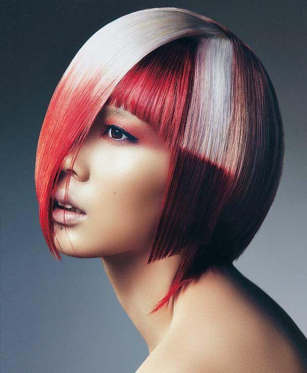 исполнению блочное окрашивание волос фото будущий