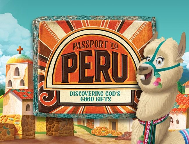 Vacation Bible School Craft Ideas Kids Part - 33: Passport To Peru VBS 2017 - Immerse Kids In This Vibrant Culture Where They  Discover Godu0027s Good Gifts For Us All.
