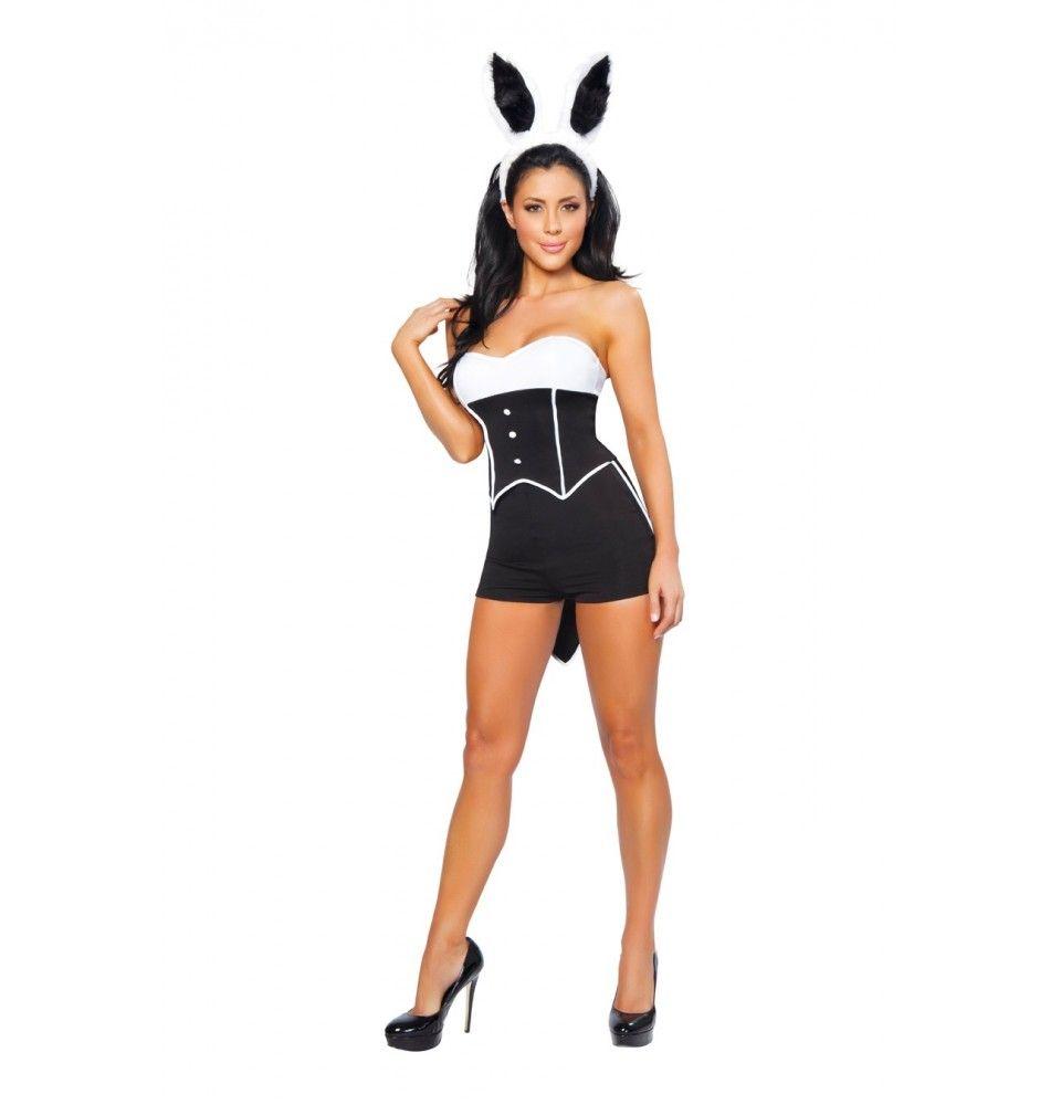 Sexy Tuxedo Bunny Costume Look fab this halloween http://adult-halloween-costume.fastblogger.uk/