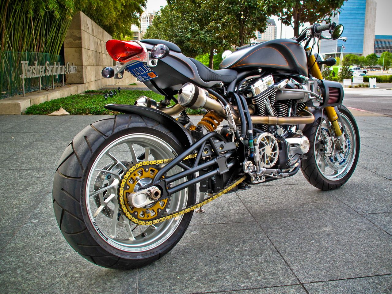 The second most expensive motorcycle in the world is ECOSSE Titanium ...