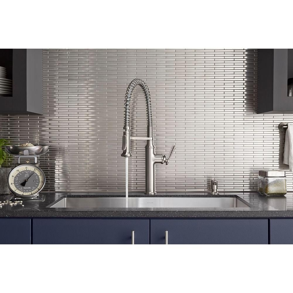 Kohler Tournant Pull Down Kitchen Faucet With Images Kitchen