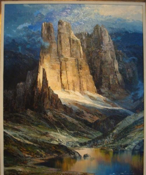 353 best painting landescape alpine images on Pinterest ...