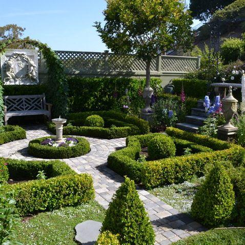 Small Formal Garden English Garden Design French Formal Garden
