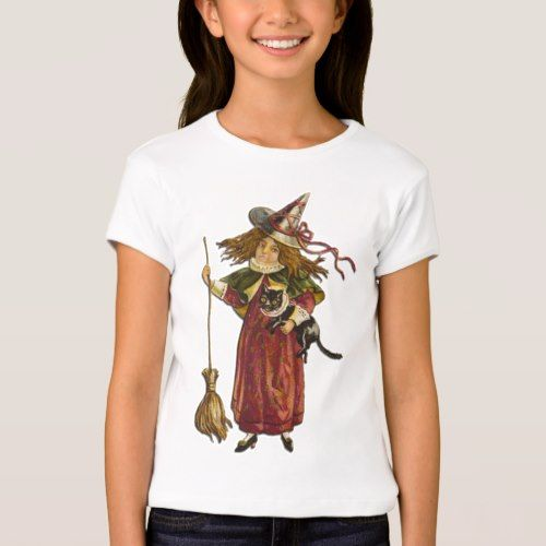 Cute Vintage Witch T-Shirt