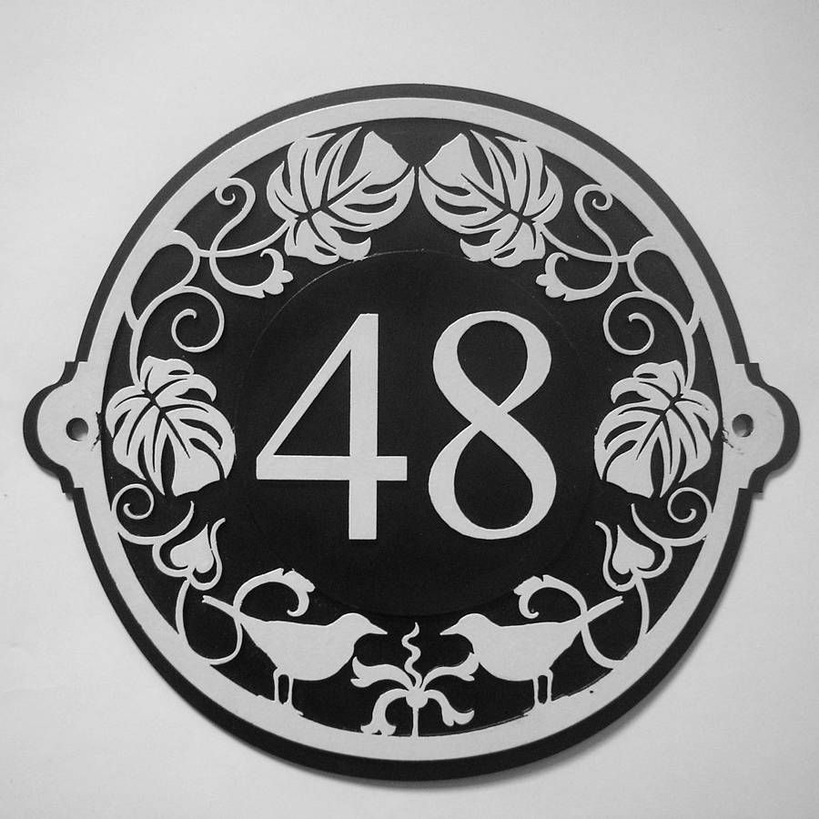 Sketch Of Present Artistic House Address Numbers By Decorating Art Deco House  Numbers Part 89