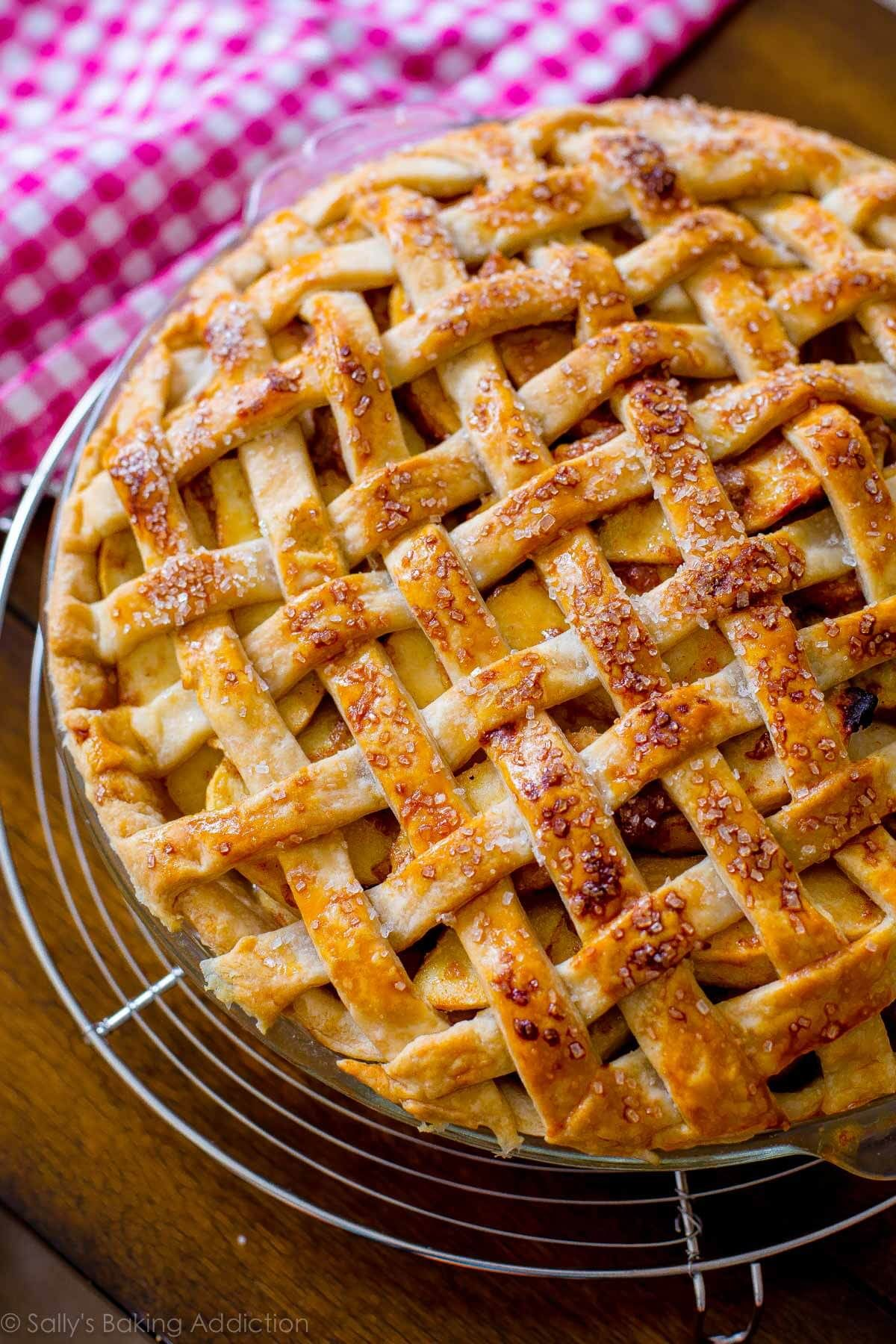 Sally's Baking Addiction Here is a classic lattice