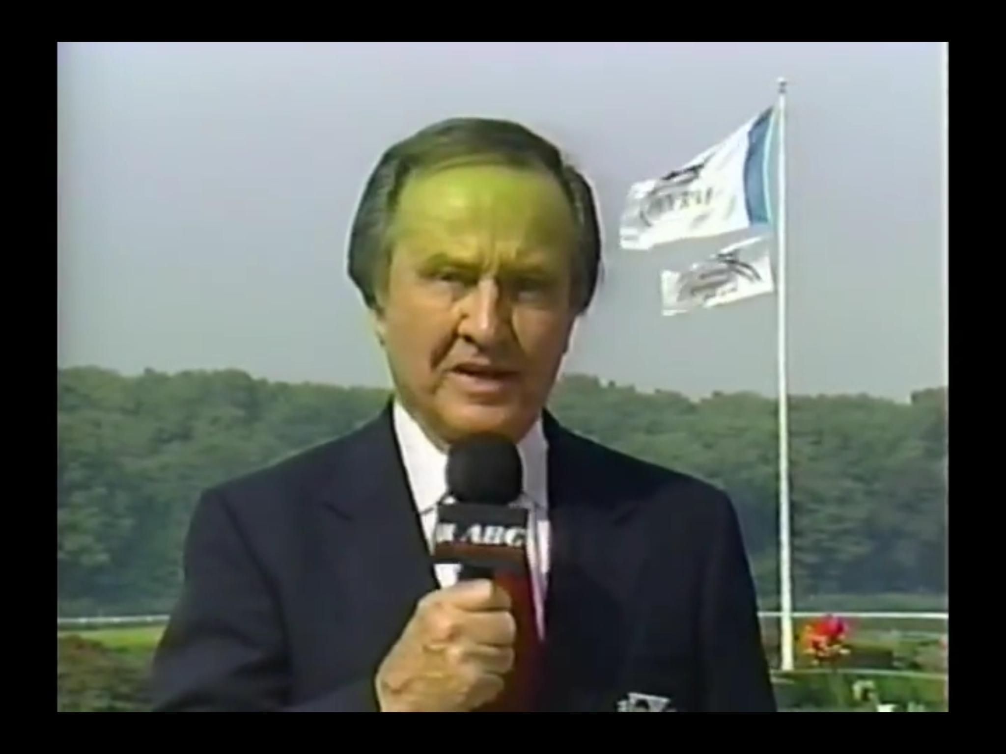 Jim McKay - Belmont Stakes