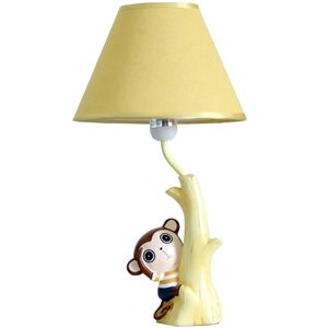 Modern simple creative lovely monkey table lamp linen shade modern simple creative lovely monkey table lamp linen shade mozeypictures