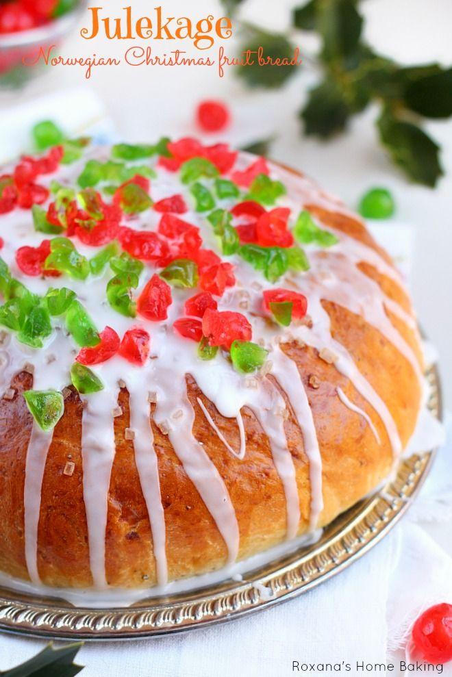 Julekage norwegian christmas fruit bread recipe fruit bread julekage norwegian christmas fruit bread recipe forumfinder Choice Image