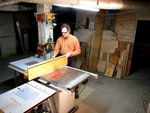 Tablesaw Universal Fence Jig Part 1 Mp4 Look At This And Get