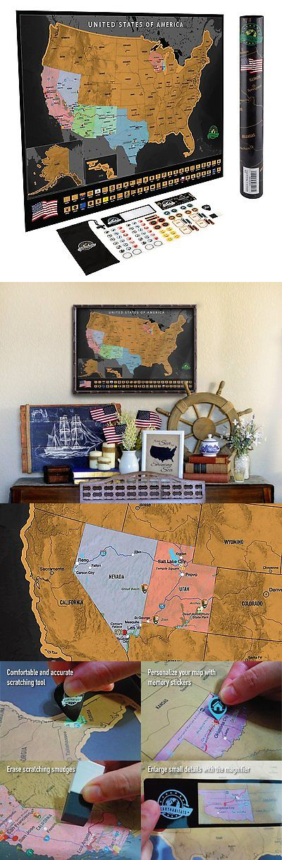 Other Travel Maps 164807 Scratch Off Usa