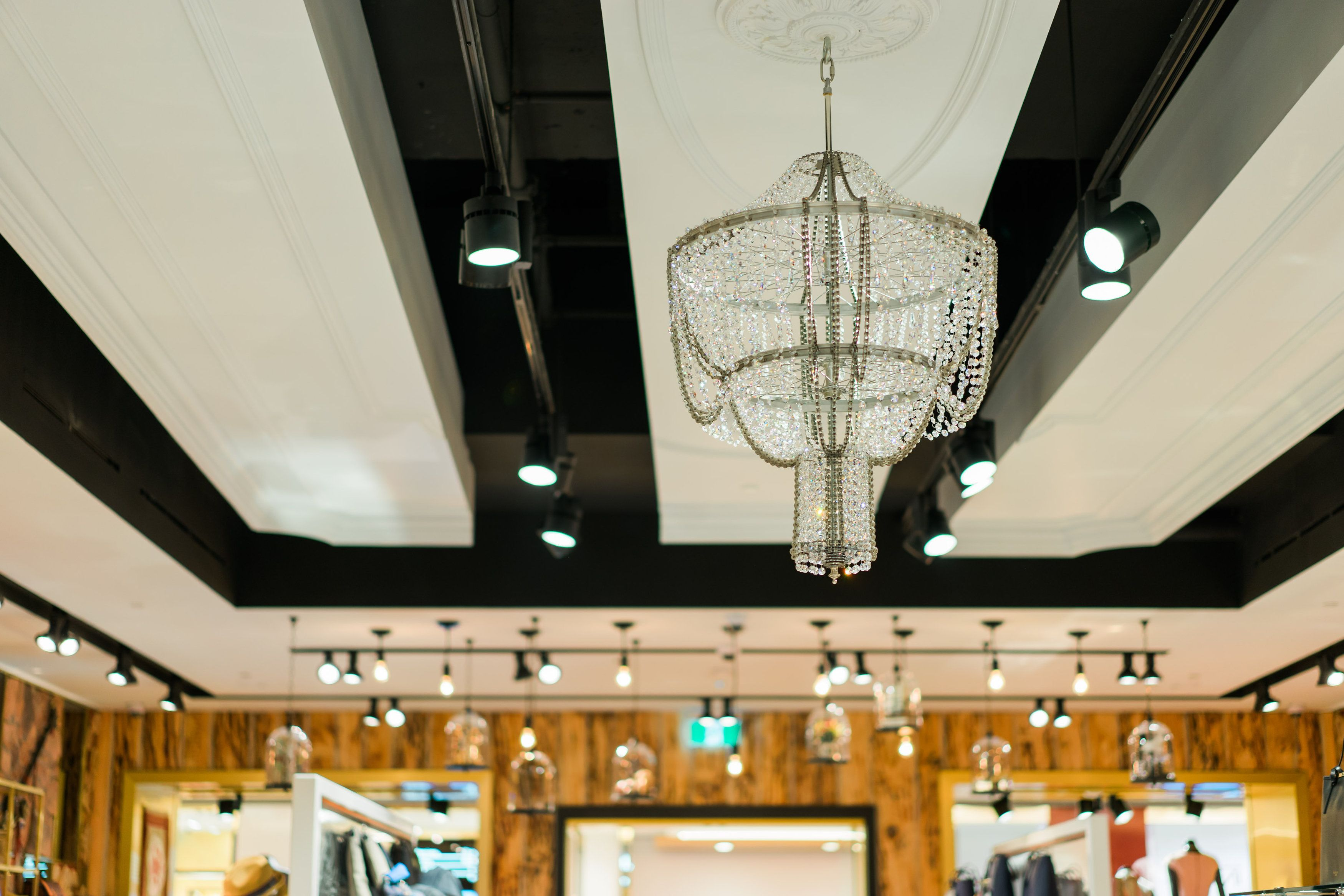 Ted baker store vancouver up cycled chandelier by rothschild ted baker store vancouver up cycled chandelier by rothschild bickers arubaitofo Images