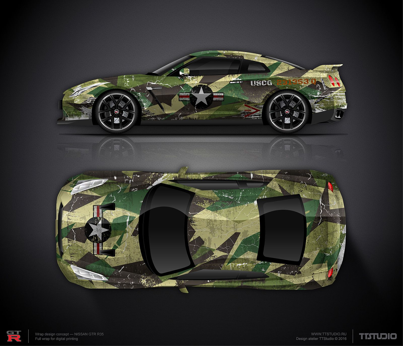 Pin Em Car Wrap Design