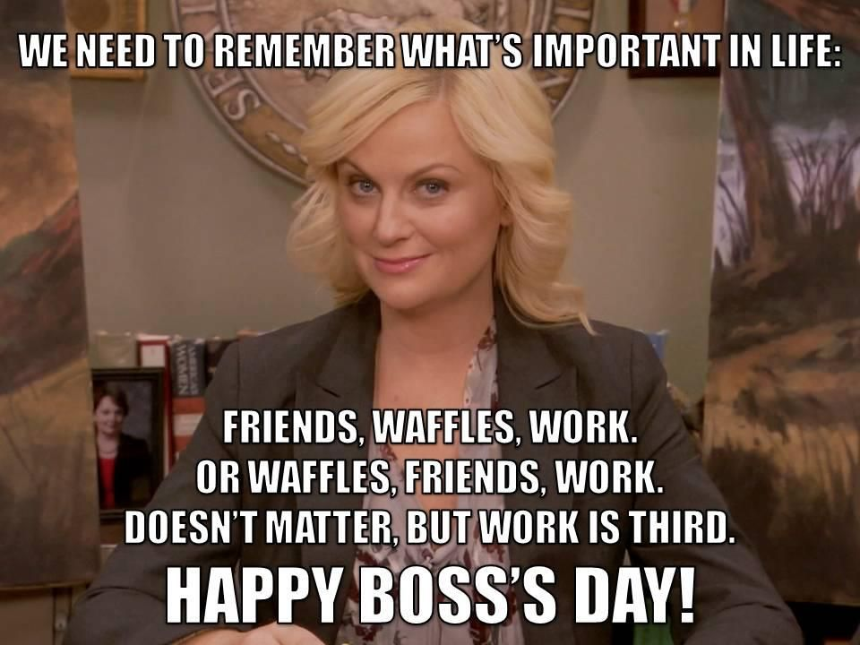 Pin By Geb Network On Parks And Memes Bosses Day Happy Boss S Day National Bosses Day