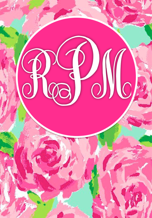 Lilly Pulitzer Monogram Add Your Own