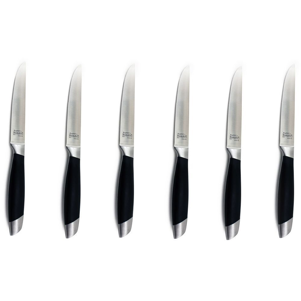 BergHOFF Geminis 6-piece Steak Knife Set (Geminis 6pc Steak Knife ...