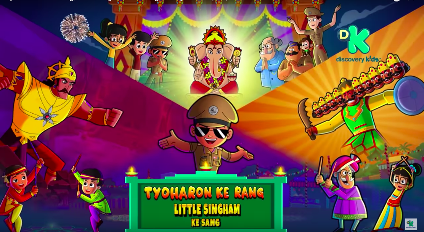 Pin On Little Singham By Discovery Kids