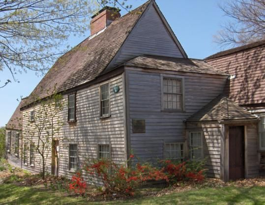 The Oldest Wood Frame House In North America