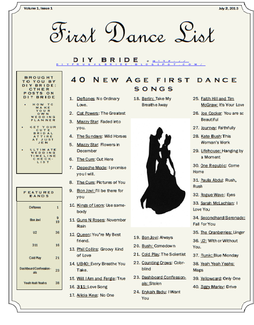 Diy Bride Blog Has Created A List Of First Dance Songs For Brides Who Are Still Country Wedding
