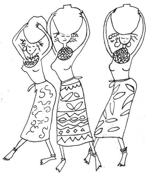 Etnico.3 | Creaciones Claudia | Plantillas | Pinterest | Africanos ...