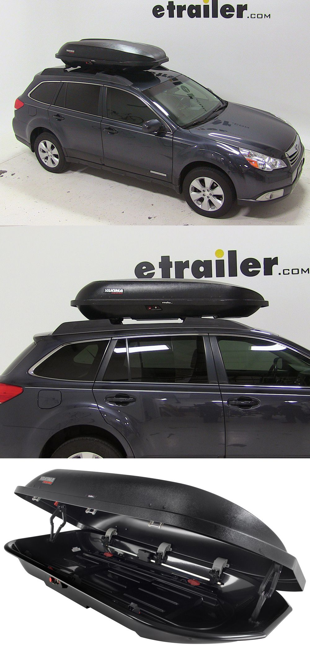 Yakima Rocketbox Pro 14 Rooftop Cargo Box 14 Cu Ft Black Yakima Roof Box Y07192 Subaru Outback Roof Box Cargo Carrier