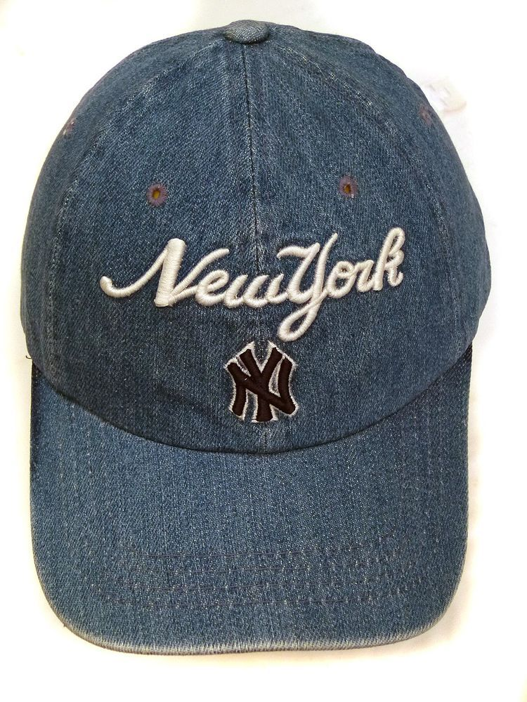 New York Yankees MLB  Baseball  Cap DENIM mens womans clothing headwear hat  112