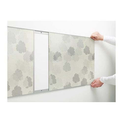fastbo wall panel double sided white leaves white light grey home pinterest ikea. Black Bedroom Furniture Sets. Home Design Ideas