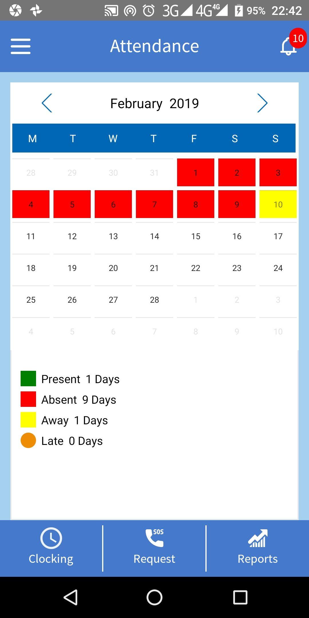 1 Absence Management software Online absence management