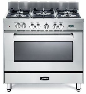 Vefsge365nss Verona 36 Dual Fuel Single Oven Range Stainless Steel Dual Fuel Ranges Verona Range Single Oven