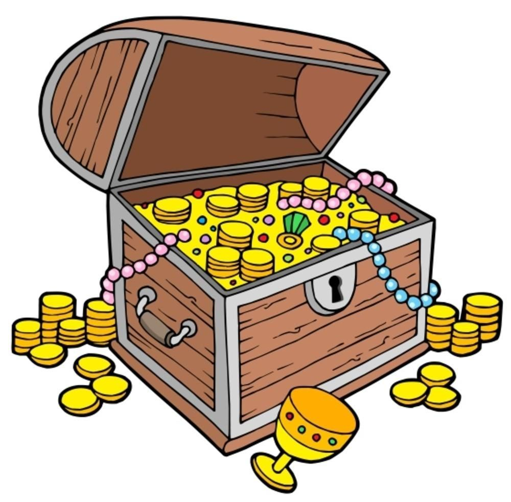 39++ Treasure chest clipart free info