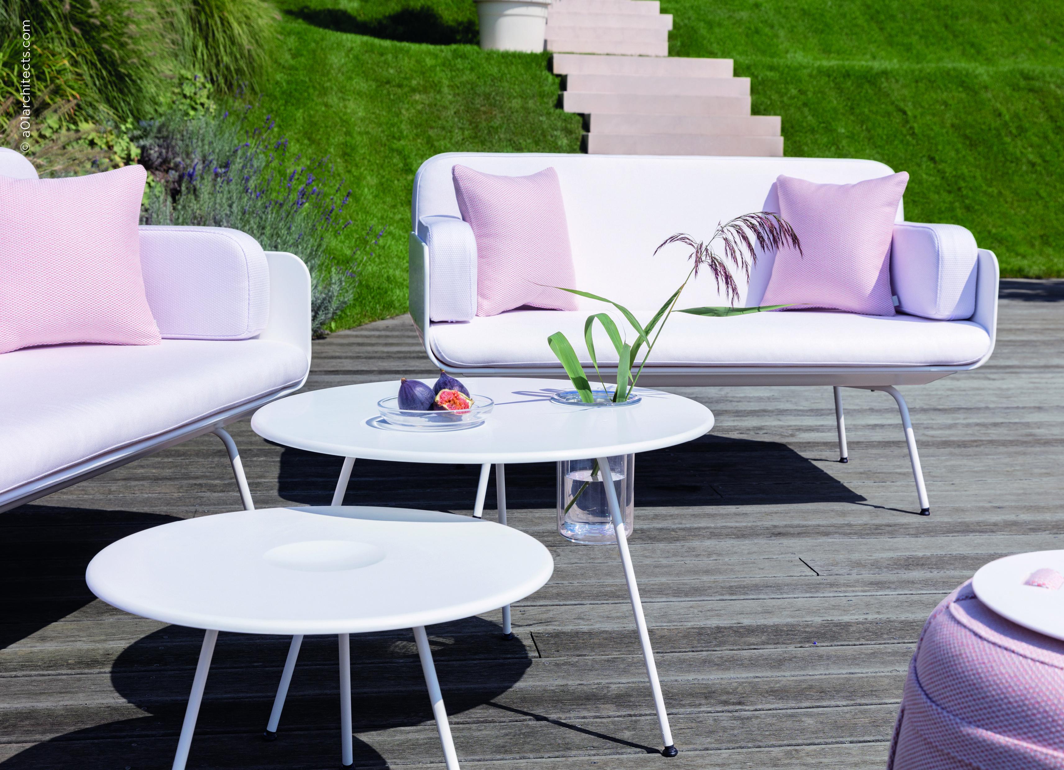 Salon De Jardin Corian Haut De Gamme Collection Air Viteo In 2020
