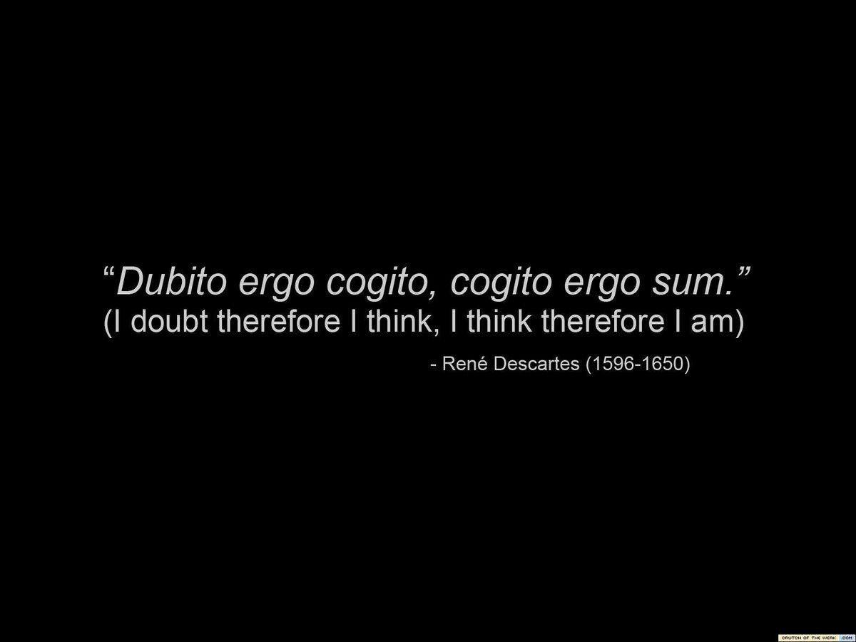 Frases De René Descartes Para Gente Inteligente