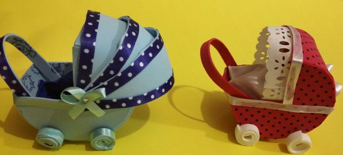 Lembrancinha de carrinho de bebê, para Chá de Bebê, ou Maternidade, Confeccionamos na cor desejada qualquer um dos modelos,